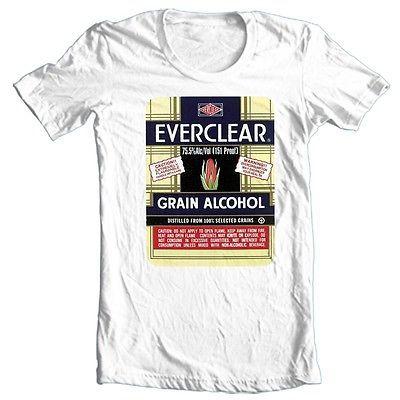 Everclear Grain Alcohol T shirt retro vintage 100% cotton graphic tee