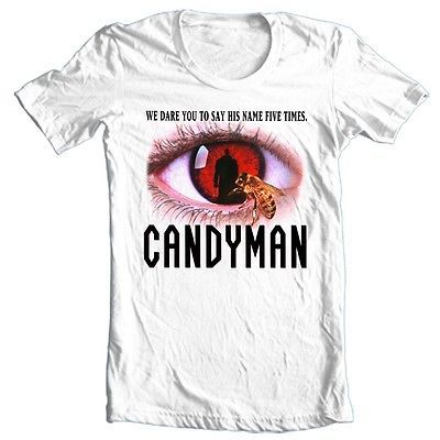 Candyman T-shirt retro 80's horror movie 80s slasher films cotton graphic tee