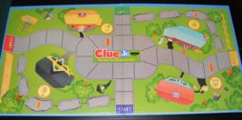 1995 Clue Jr. The Case of the Hidden Toys Game Board - $12.00