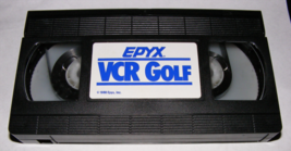 1988 Epyx Vcr Golf Board Game Vhs Tape - $12.00