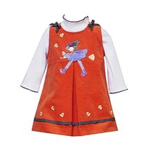 Rare Editions Baby/Infant Girls 12M-24M 2-Piece ORANGE SPLIT-FRONT WITCH Hall...