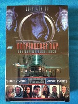 Independence Day Movie Trading Cards Box - Factory sealed - Topps - $27.99
