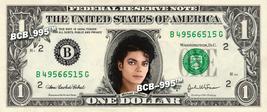 MICHAEL JACKSON on REAL Dollar Bill Cash Money Bank Note Currency Celebr... - $6.66