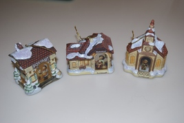 Hummel Bradford Editions Bavarian Village Christmas Ornaments Postamt Ba... - $29.95