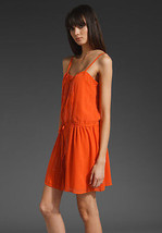 Joie alvin dress in orange size  small  - $42.82