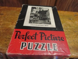Vintage Perfect  Picture Puzzle Old Barnhurst 1940s Jigsaw Victory Bond Symbol - $10.39