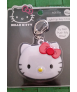 Sanrio Hello Kitty Flash Light Key Chain , 3 Led Lights, New with Tags  - $12.99