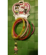 Sanrio Hello Kitty Bracelet Set + Key Chain, Charm Pendant, New With Tags  - $14.99
