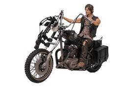 DARYL DIXON w Chopper Deluxe Box Set McFarlane Toys Walking Dead TV Seri... - $54.99