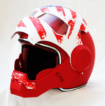 Masei 610 USA Patriot Motorcycle Helmet image 3