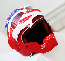 Masei 610 USA Patriot Motorcycle Helmet image 4