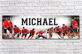 Custom Name Design Poster / NHL Chicago Blackhawks / Personalized Banner... - $15.00