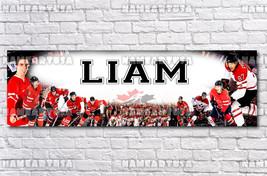 Custom Name Design Poster / Hockey Canada / Personalized Banner / Birthd... - $15.00