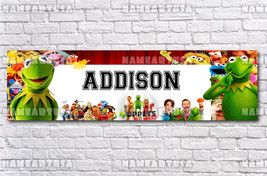 Custom Name Design Poster / Muppets Most Wanted / Personalized Banner / ... - $15.00