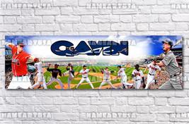 Custom Name Design Poster / MLB Atlanta Braves / Personalized Banner / B... - $15.00