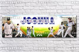 Custom Name Design Poster / MLB New York Yankees / Personalized Banner /... - $15.00