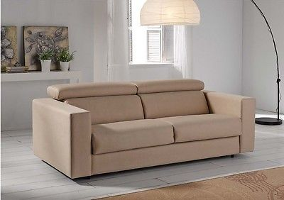 Alcira Sofa Sleeper Bed Living Room Modern Contemporary Made in Spain