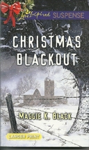 Christmas Blackout Maggie K Black(Love Inspired Large Print Suspense) Pa... - $2.25