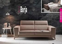 Borja Sofa Sleeper Bed Living Room Modern Contemporary Futon Made in Spain