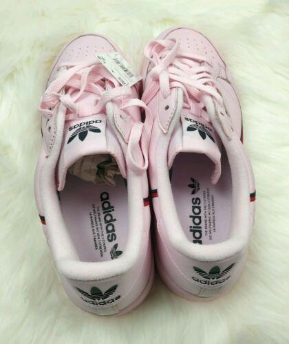 Adidas originals continental 80 pink size 10