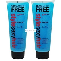 """Style Sexy Hair Hard Holding Gel 10.2 fl. oz. / 300 ml Hard Up """"Pack of 2"""" - $49.29"""