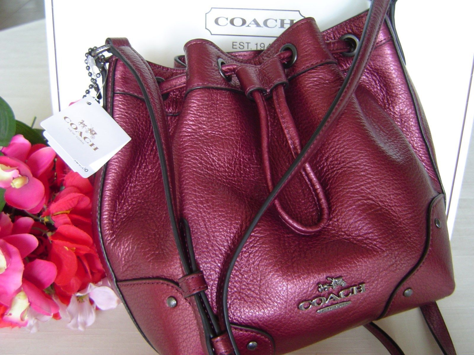 Coach baby Mickie Drawstring Bag Crossbody and 50 similar items