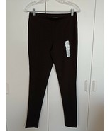 GRACE ELEMENTS LADIES BROWN LEGGINGS-S-NWT-RAYON/NYLON/SPANDEX-SOFT/COMF... - $9.99