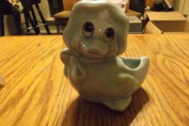 blue  duck  with  bonnet  planter - $12.00
