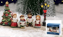 Mini Christmas Victorian Village 6 Pieces - Mini World by Giftcraft