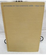 An Editor on the Comstock Lode by Drury, Wells - $45.00