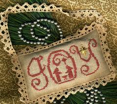 Wondrous Joy Plain Fancy Collection cross stitch chart Homespun Elegance - $5.40