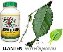 Anamu Llanten Herbacure 600mg e/ 1200mg Capsules Per Serving- Organicall... - $24.70