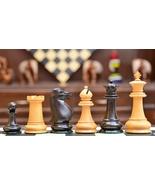 The Antique Circa 1880 Harwitz Staunton Series Chess Set in Ebony/Box Wo... - $431.99