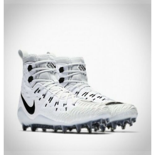 Primary image for NEW Nike Force Savage Elite TD Lineman White Football Cleats 918345-101 Size 10