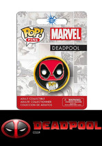 Marvel  Deadpool Funko Pop Pins   *In Stock Ready To Ship* - $2.97