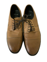 Clarks Collection Mens Dress Shoes US 10.5M Tan Leather oxford #16326 - $41.00