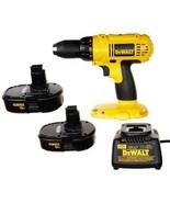 Cordless Power Tools Compact Drill Dewalt Bit Set Home Improvement 18 Vo... - $130.82