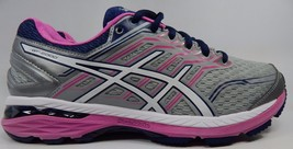 Asics GT 2000 v 5 Women's Running Shoes Sz US 9 M (B) EU 40.5 Silver Blue T757N