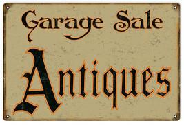 Garage Sale Antiques Vintage Looking Sign - $25.74