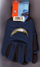 NFL Chargers Sport Utility Gloves One Size Fits Most - $9.99
