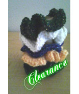 Crochet Hair Scrunchies/Set of 5 - $6.00
