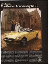 1975 The Golden Anniversary MGB Advertisement - British Leyland Motors - $16.00