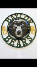 "12"" Baylor Bears BU Wall Decor, Great gift Idea... - $29.65"