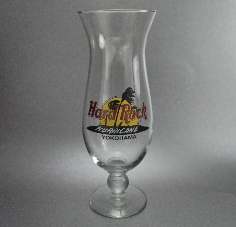 Hard Rock Cafe Yokohama Hurricane Glass