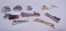 lot of 9 pieces Mens Tietacs Tie Bars Cufflinks - $59.95