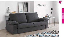 Nereo Sofa Sleeper Bed Living Room Modern Contemporary Futon Made in Spain