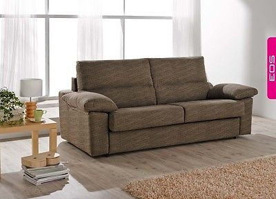 Norma Sofa Sleeper Bed Living Room Modern Contemporary Futon Made in Spain