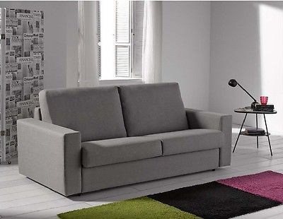 Regina Sofa Sleeper Bed Living Room Modern Contemporary Futon Made in Spain