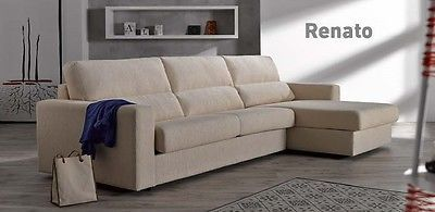 Renato Sofa Sleeper Bed Living Room Modern Contemporary Futon Made in Spain