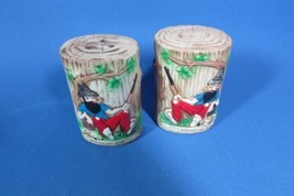 Vintage Moosehead Lake Maine Salt Pepper Shaker... - $13.99